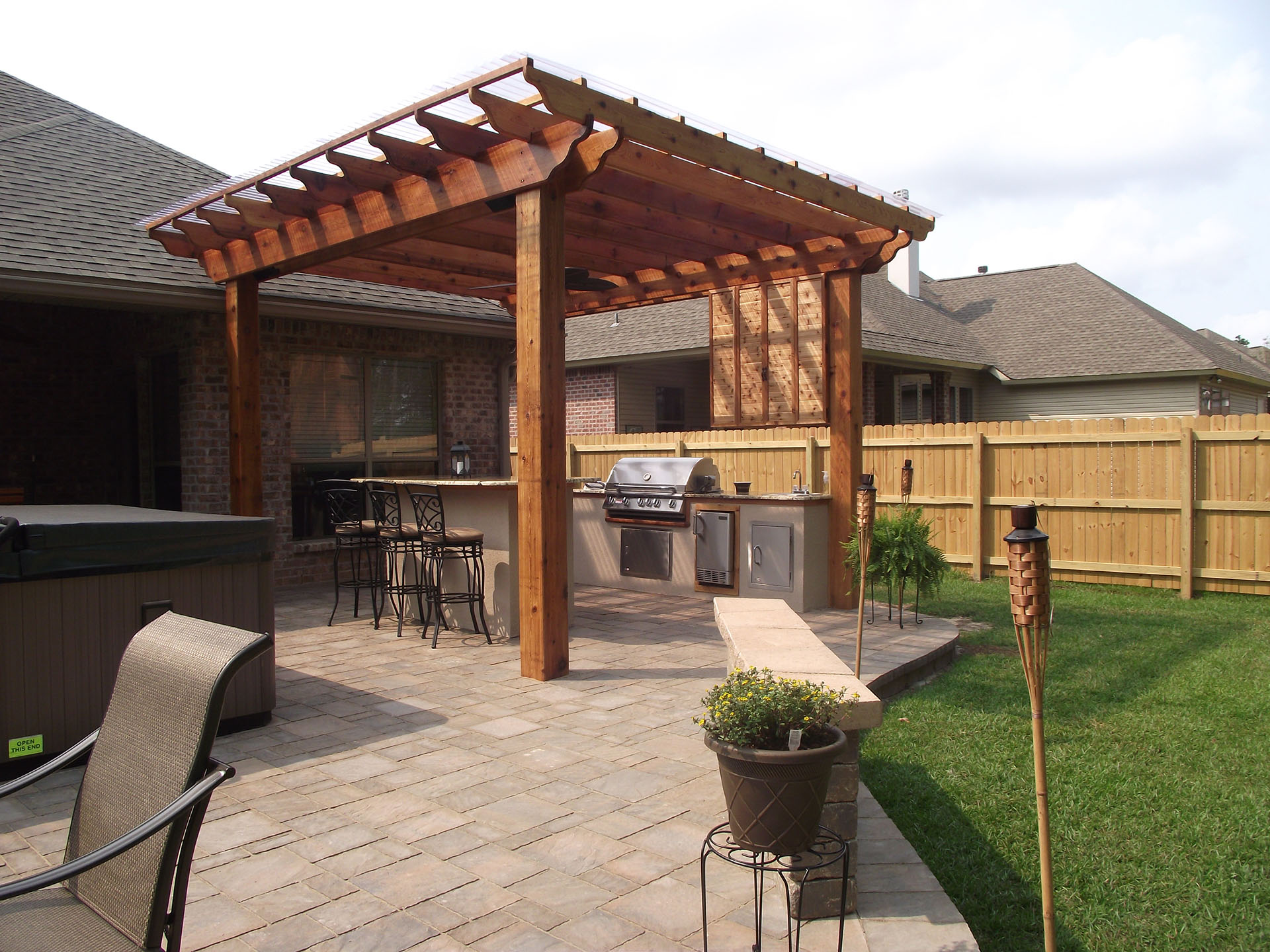 Pergolas | New Orleans Pergola Designs | Custom Outdoor ...